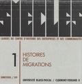 Geneviève Massard-Guilbaud - Siècles N° 1/1995 : Histoires de migrations.