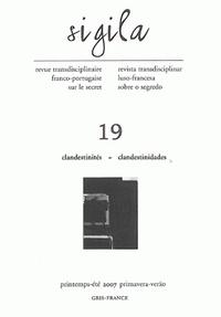 Charles Baladier et Fernand Cambon - Sigila N° 19 : Clandestinités.