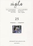Jean Starobinski et Gilberto Mendonça Teles - Sigila N° 25, Printemps-été : Transparence.