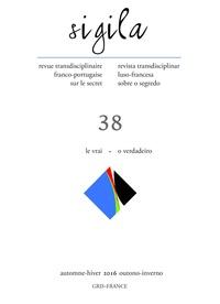 Florence Lévi - Sigila N° 38, automne-hiver : Le vrai.
