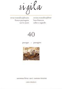Nathan Wachtel - Sigila N° 40, automne-hiver : Passages - Passagens.
