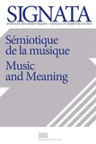 Per Aage Brandt et José Roberto do Carmo - Signata N° 6/2015 : Sémiotique de la musique.