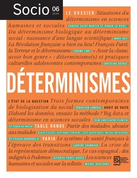 Ronan Le Roux et Arnaud Saint-Martin - Socio N° 6, mai 2016 : Déterminismes.
