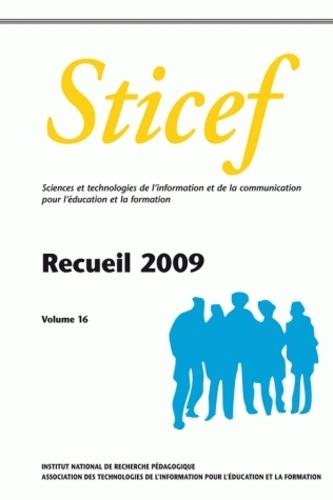 Eric Bruillard - Sticef N° 16 : Recueil 2009.