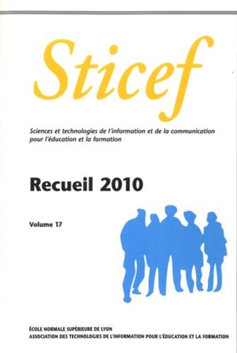Eric Bruillard - Sticef N° 17 : Recueil 2010.