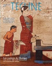 Brigitte Bourgeois - Technè N° 48, 2019 : Les couleurs de l'Antique - Actes de la 8e table ronde sur la polychromie de la sculpture et de l'architecture antique.