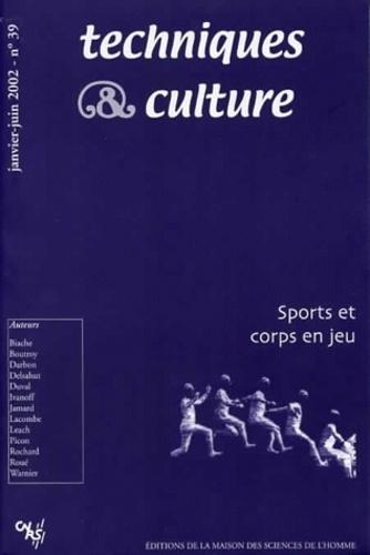 M-J Biache - Techniques & culture N° 39, Janvier-Juin : Sport et corps en jeu.