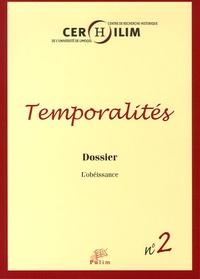 Michel Cassan - Temporalités N° 2 : L'obéissance.