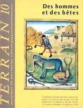 Denis Chevallier et Bernadette Lizet - Terrain N° 10 Avril 1988 : Des hommes et des bêtes.