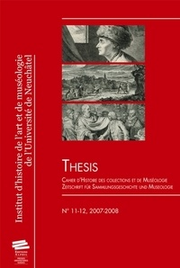 Nina Gorgus et Hole Rössler - Thesis N° 11-12, 2007-2008 : .