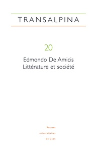 Mariella Colin - Transalpina N° 20 : Edmondo De Amicis : littérature et société.