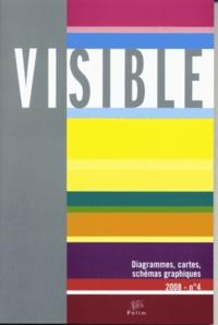 Elisabetta Gigante - Visible N° 4, 2008 : Diagrammes, cartes, schémas graphiques.