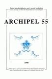 Collectif d'auteurs - Archipel N° 55/1998 : .