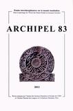 Daniel Perret - Archipel N° 83/2012 : .