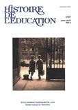 Yannick Le Marec et Sébastien-Akira Alix - Histoire de l'éducation N° 137 janvier-avril : .