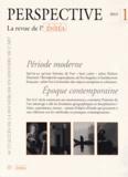 Bernd Roeck - Perspective N° 1/2013 : Période moderne / Epoque contemporaine.