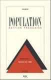 Michel Bozon et Eva Lelièvre - Population Volume 59, N° 3-4, M : .