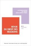 Francis Messner - Revue du droit des religions N° 2, novembre 2016 : La dissimulation du visage dans l'espace public.