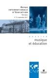 CIEP - Musique et éducation - Revue internationale d'éducation sèvres 75 - Ebook.