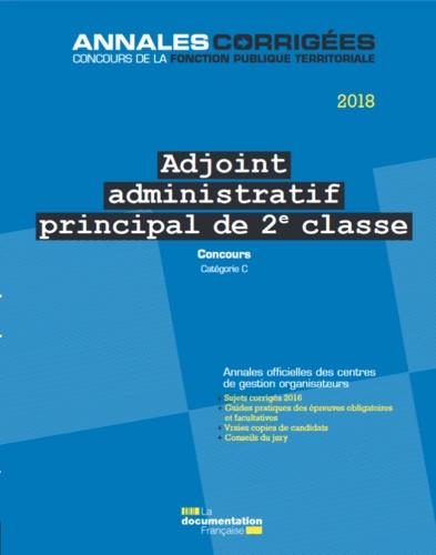 Adjoint Administratif Principal De 2e Classe