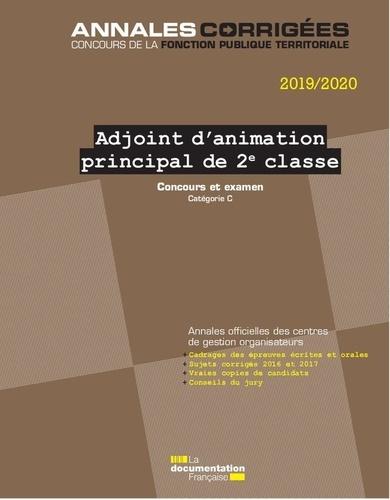 Adjoint D'animation Principal De 2ème Classe