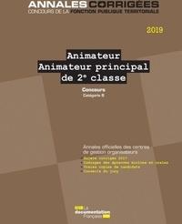 Animateur, Animateur principal de 2e classe - Concours externes, internes, 3e concours. Catégorie B.pdf