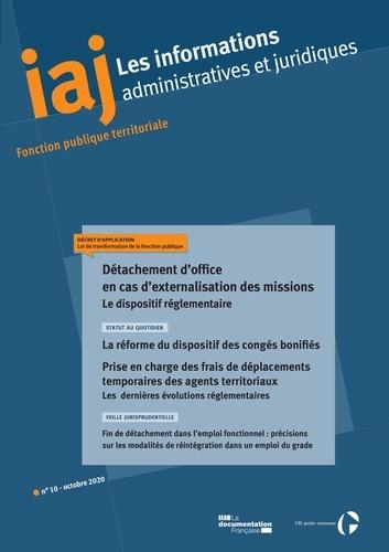 CIG petite couronne - Détachement d'office en cas d'externalisation des missions : Le dispositif réglementaire.