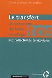 CIG petite couronne - Le transfert des personnels des lycées et collèges aux collectivités territoriales.