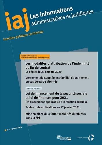 CIG petite couronne - Les modalités d'attribution de l'indemnité de fin de contrat - Le décret du 23 octobre 2020.