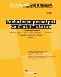 CIG petite couronne - Technicien principal de 2e et 1re classe - Examens spécialités I.