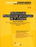 CIG petite couronne - Technicien, technicien principal de 2e classe - Concours externe, interne et 3e concours spécialités I.