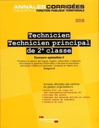 Deedr.fr Technicien, technicien principal de 2e classe - Concours externe, interne et 3e concours spécialités II Image