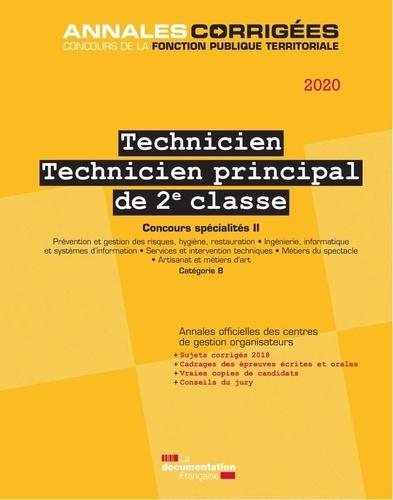 CIG petite couronne - Technicien - Technicien principal de 2e classe - Concours spécialités II catégorie B.