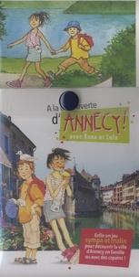 Cimbô conseils - A la découverte d'Annecy avec Anne et Lulu - Avec une jolie carte illustrée, une boussole, 2 éventails de fiches.