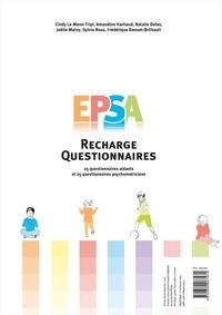 Cindy Le Menn-Tripi et Amandine Vachaud - EPSA : recharges questionnaires - 25 questionnaires aidants et 25 questionnaires psychomotriciens.