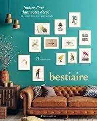 Cindy Lermite - Bestiaire - 21 reproductions.