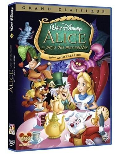 CINE SOLUTIONS - Alice au Pays des merveilles - Disney - Dvd