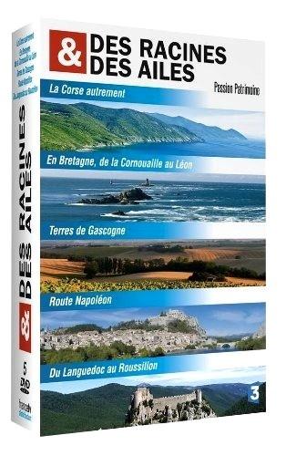 CINE SOLUTIONS - Des racines et des ailes - Passion patrimoine : La Corse, La Bretagne, La Gascogne, La Route Napoléon, Languedoc-Roussillon - Coffret 5 Dvd
