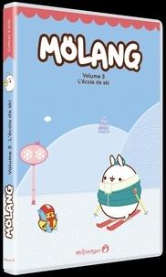 Ciné Solutions - L'école de ski - Molang, Saison 2, Volume 3. 1 DVD