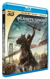 CINE SOLUTIONS - La Planète des Singes : L'Affrontement - Matt Reeves - Edition Blu-ray 3D + Blu-ray