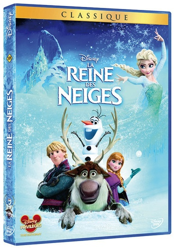 La Reine des neiges - Chris Buck, Jennifer Lee - Dvd