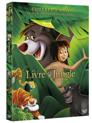 CINE SOLUTIONS - Le Livre de la jungle 1 et 2 - Disney - Coffret 2 Dvd