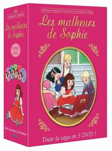 CINE SOLUTIONS - Les Malheurs de Sophie - L'intégrale de la saga - Bernard Deyriès - Coffret 5 Dvd
