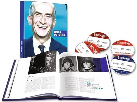 CINE SOLUTIONS - Louis de Funès : La grande vadrouille, Le corniaud, La soupe aux choux, L'aile ou la cuisse - Coffret livre 128 pages + 4 Dvd