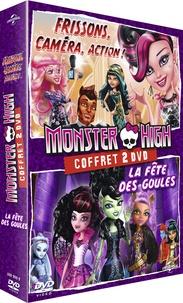 CINE SOLUTIONS - Monster High : La fête des goules et Frisson, caméra, action ! - Double Dvd