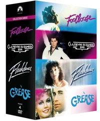 CINE SOLUTIONS - Paramount Collection Danse: Footloose + La fièvre du samedi soir + Flashdance + Grease - Coffret 4 Dvd