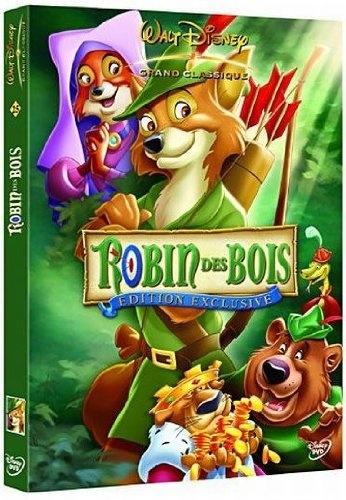 CINE SOLUTIONS - Robin des Bois - Disney - Dvd