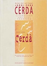 Cinto Carrera - Jordi pere cerdà - Literatura, societat, frontera (Actes del col.loqui).