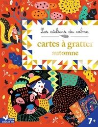 Cinzia Sileo - Cartes à gratter automne - Avec un stylet.