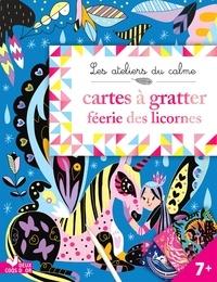 Cinzia Sileo - Cartes à gratter féérie des licornes.